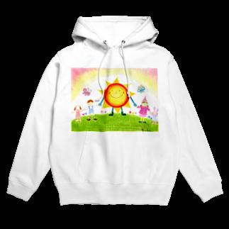 littletrianglesの太陽の子Sunny Hoodies
