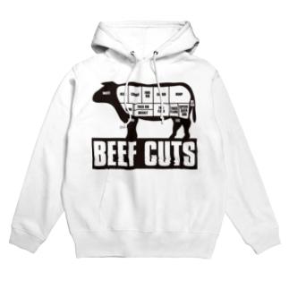 Beef_Cuts Hoodies