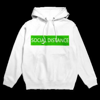 HirahiraのSocial distance Hoodies