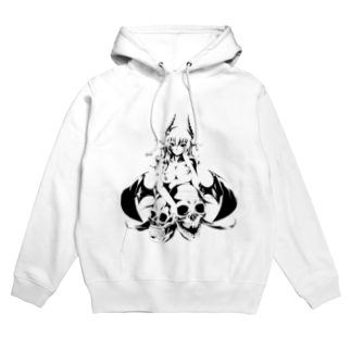 小悪魔ユノのsmiley Devil Hoodies