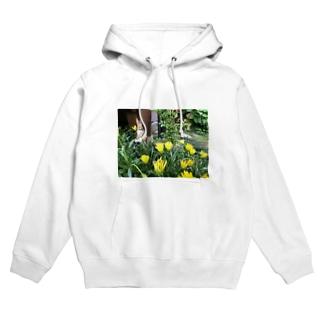 花うさぎ Hoodies