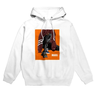 Young people living on Mars.02 Hoodies