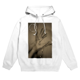 Friends are thieves of time. Hoodies
