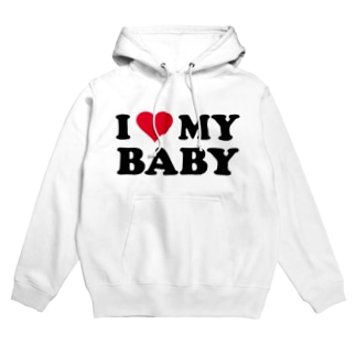 I ♡ MY BABY Hoodies