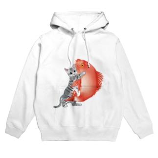 恋猫(姫ニャン) Hoodies