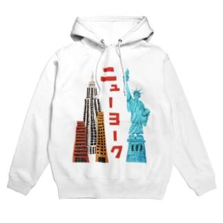 ニューヨーク Hoodies