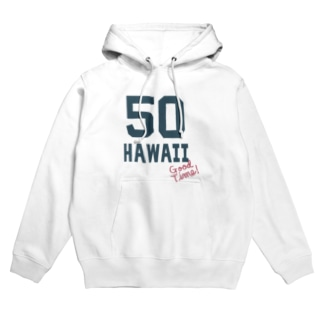 ナンバリングHAWAII 50 Hoodies