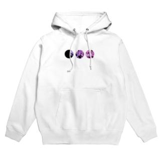 紫陽花。 Hoodies
