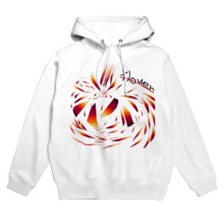 flower Hoodies