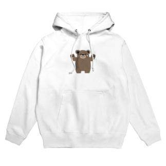 TK-marketの可愛い くまTシャツ Hoodies