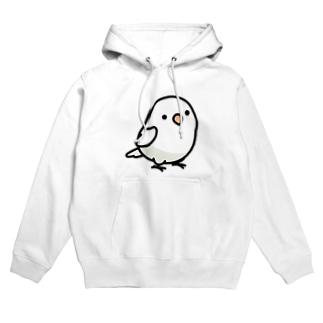 Chubby Bird ボタンインコ Hoodies
