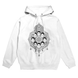 ヤマト総会公式のヤマト総会-曼荼羅- Tシャツ Hoodies
