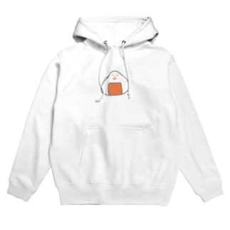 Orange rice ball boy Hoodies
