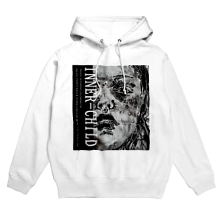 INNER-CHILD.colのnot emotional Hoodies