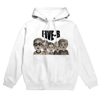 Side runの館 B2のFIVE-B Hoodies