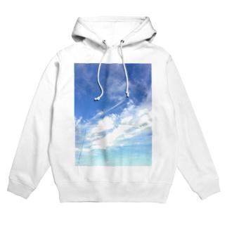 空と雲 Hoodies