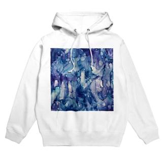 Rain glass Hoodies