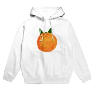 Orange Hoodies