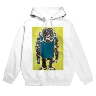 チンパンジー Hoodies