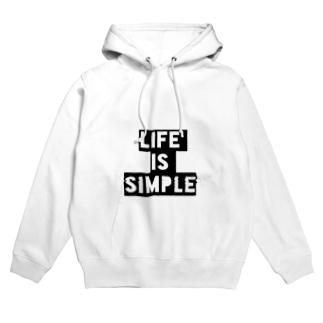 LIFE is SIMPLE Hoodies