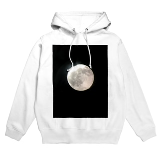 満月の夜 Hoodies