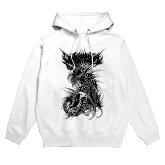 CANNIBAL(WHITE) Hoodies