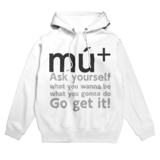 mú+message Hoodies