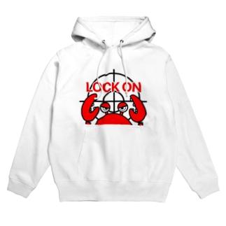 LOCK ON Hoodies