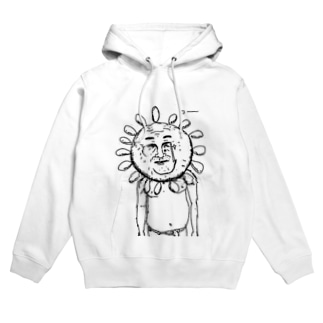 げつめんの太陽おじさん Hoodies