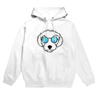 sunglasse dog Hoodies