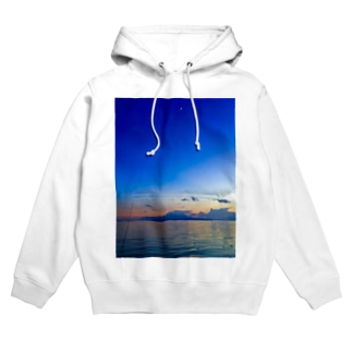 Blue moon Hoodies
