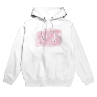 color ピンク Hoodie