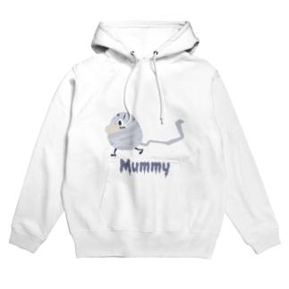 ぐるぐるミイラ Mummy Hoodies