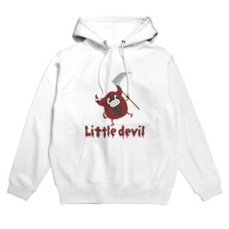 小悪魔さん Little devil Hoodies
