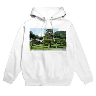 仙巌園の松 Hoodies