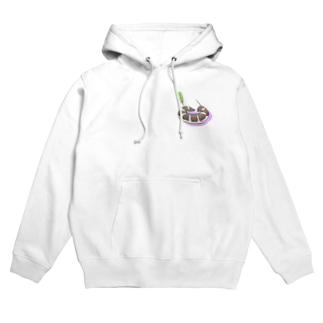 丸まるセスジスズメTシャツパーカーシリーズ Hoodies