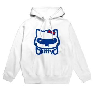 原田専門家のパ紋No.2745 kitty Hoodies