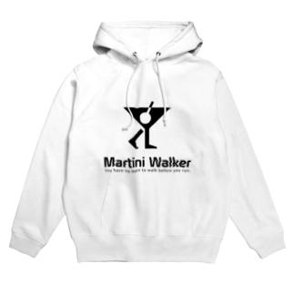 Martini Walker Hoodies