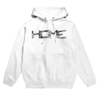 HOME公式グッズ Hoodies