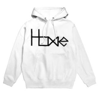 HOME公式ショップのHOME公式グッズ Hoodies