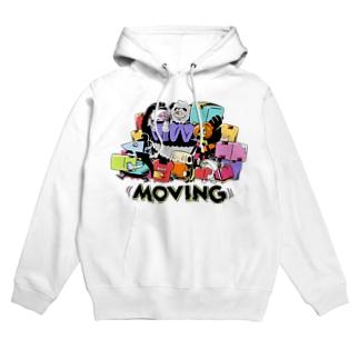 ((MOVING)) Hoodies