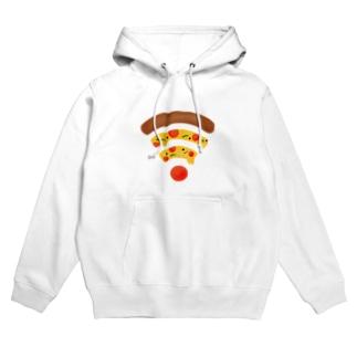 ペパロニピザのWiFi Hoodies