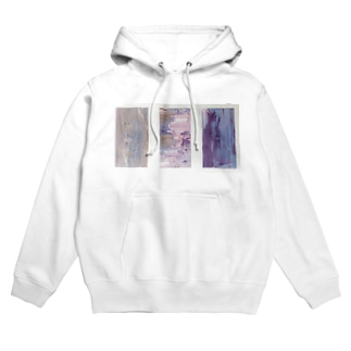 Oil painted object  Hoodies