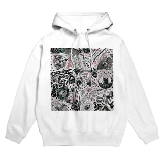 In my head Hoodies