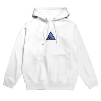 夜のピラミッド Hoodies