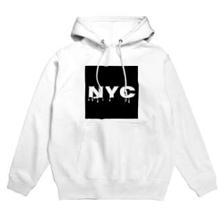 NYC melting Hoodies