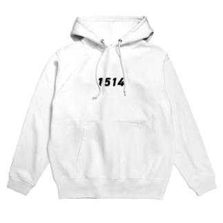 西暦「1514」 Hoodies