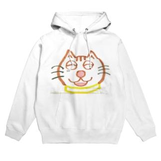 山本マロン(茶トラの猫) Hoodies