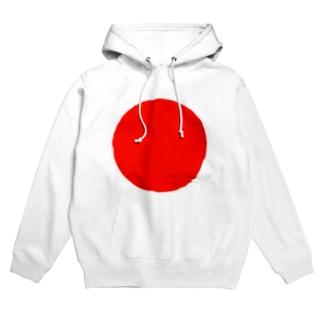 日本代表シンボル「日の丸」 Hoodies
