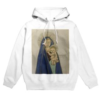 聖母子シリーズ Hoodies